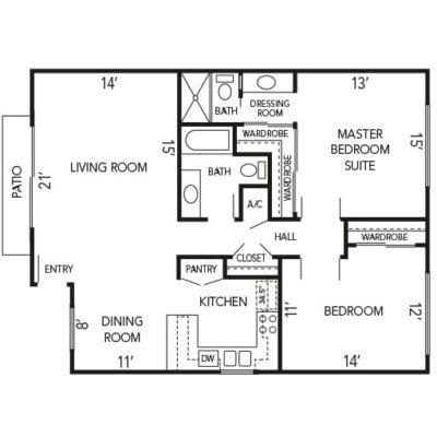 Cottonwood floorplan