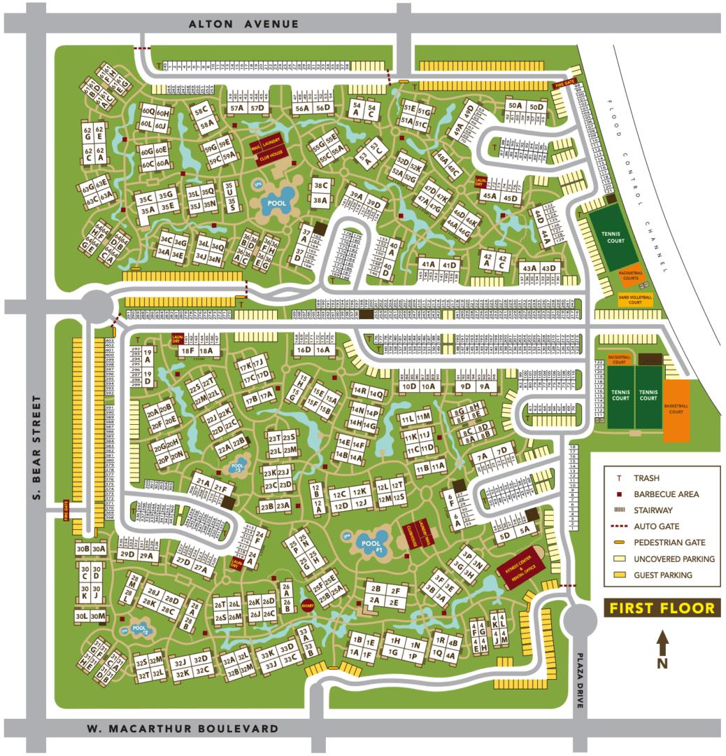 Dogwood site plan